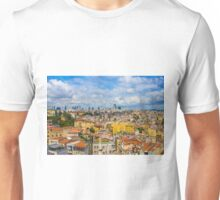 Areal view over delightful &vibrant Istanbul, TURKEY Unisex T-Shirt