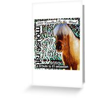 Lil Sebastian, Mouse Rat, Parks and Rec Greeting Card
