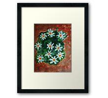 More Antique Floral, watercolor Framed Print