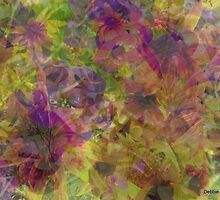 Soft, Pretty Abstract by Debbie Robbins
