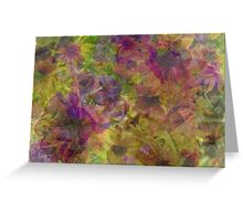 Soft, Pretty Abstract Greeting Card
