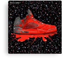 Air Jordan Retro 2016 (Crimson red) Canvas Print