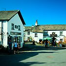 The kings Arms Hawkshead by John Hare