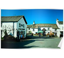 The kings Arms Hawkshead Poster