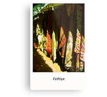 Colors of the Orient is one of the charms and wonders of travel . Fethiye. Turkey. by Brown Sugar . Views (43) Thank you friends ! Metal Print