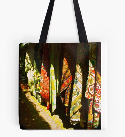 Colors of the Orient is one of the charms and wonders of travel . Fethiye. Turkey. by Brown Sugar . Views (43) Thank you friends ! Tote Bag