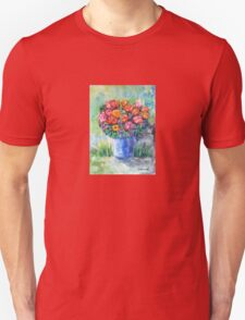 Tulips in a Vase Unisex T-Shirt