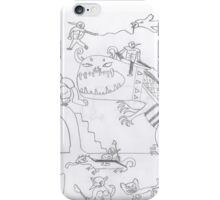 Monster fantasy war - mega beasts iPhone Case/Skin