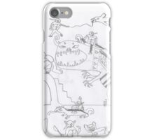 Monster fantasy war - mega beasts iPhone Case/Skin