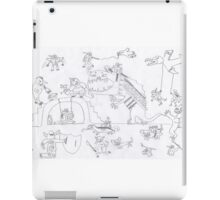Monster fantasy war - mega beasts iPad Case/Skin