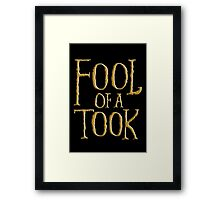 Fool of a Took Framed Print