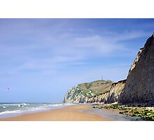 Cap Blanc Nez, France Photographic Print