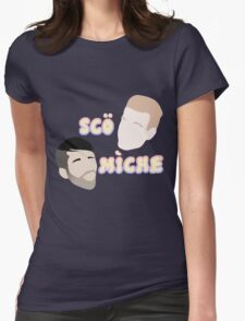 Scott and Mitch Womens Fitted T-Shirt