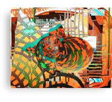 Knowledge expanding through intellectual barriers Canvas Print