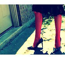 Betsey Legs Photographic Print