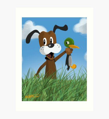 Duck Hunt Art Print