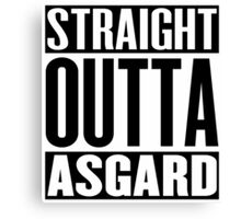 Straight Outta Asgard Canvas Print