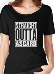 Straight Outta Asgard Women's Relaxed Fit T-Shirt