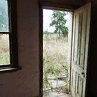 Derelict House at Mudgee - Door Vista by DashTravels