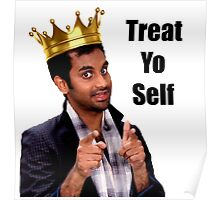 Treat Yo Self- Parks and Rec Poster