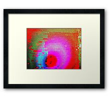 The Fabric of the Universe Framed Print