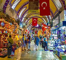 Istanbul Grand Bazaar, TURKEY by Atanas Bozhikov NASKO