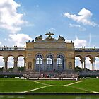 The Gloriette at Schönbrunn Palace. by Lee d'Entremont