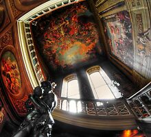 Main Staircase, Petworth House by Guy Carpenter