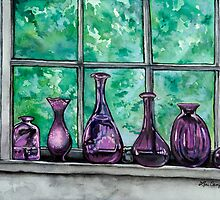 Bottles from the Living Room by Lori Elaine Campbell