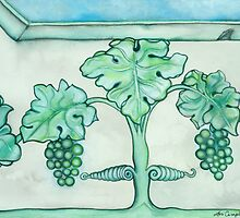 Plaster Grapes by Lori Elaine Campbell