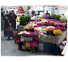 Istanbul - Flowershop 1 Poster