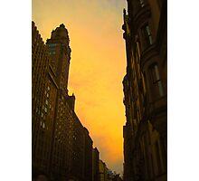 City Aura Photographic Print