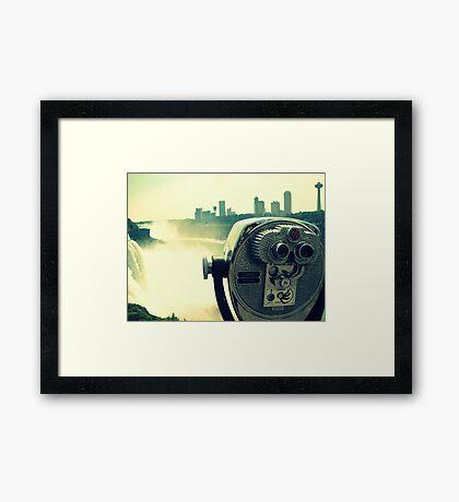 View Master Framed Print