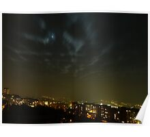 Night over the city Poster