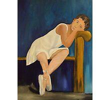 Resting Ballerina Photographic Print