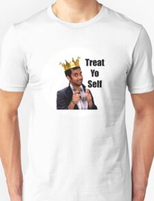 Treat Yo Self- Parks and Rec Unisex T-Shirt