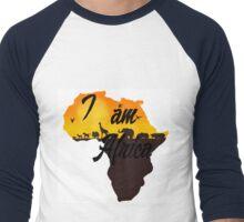 I am Africa- Book of Mormon Men's Baseball ¾ T-Shirt