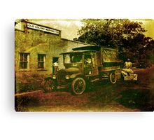 Old Colony Washing Canvas Print