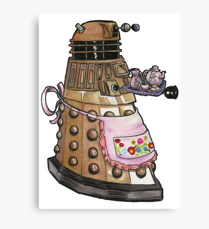 Do-you-want-some-tea ? Canvas Print
