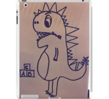 Dino swallowed his voice iPad Case/Skin