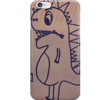 Dino swallowed his voice iPhone Case/Skin