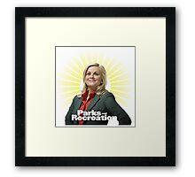 Parks and Recreation- Leslie Knope Framed Print