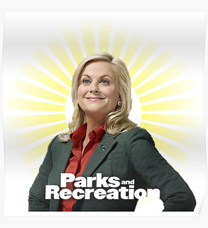 Parks and Recreation- Leslie Knope Poster