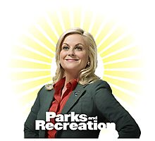 Parks and Recreation- Leslie Knope Photographic Print