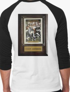 TROY AIKMAN AMERICAN QUARTERBACK Men's Baseball ¾ T-Shirt