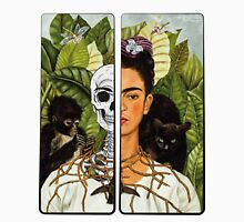 Frida Kahlo - Self Portrait (1940) Skeleton Version Unisex T-Shirt