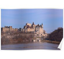 Chateau Laurier - Ottawa, Ontario Poster