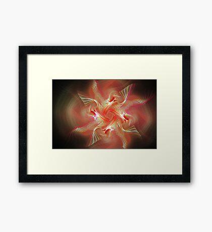 Gnarls Soft Lights Framed Print