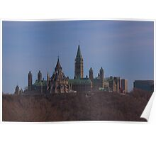 Parliament Hill - Ottawa, Ontario Poster