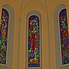 RELIGIOUS STAINEDGLASS by Lee d'Entremont
